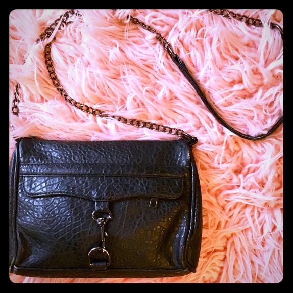 0773da07f Yoki Bags | Crossbody Bag Chain Strap Gunmetal Hardware | Poshmark